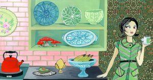 Could the Avocado-Green Kitchen Make a Comeback?