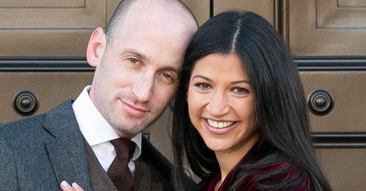 Katie Waldman and Stephen Miller Wed at Trump Hotel