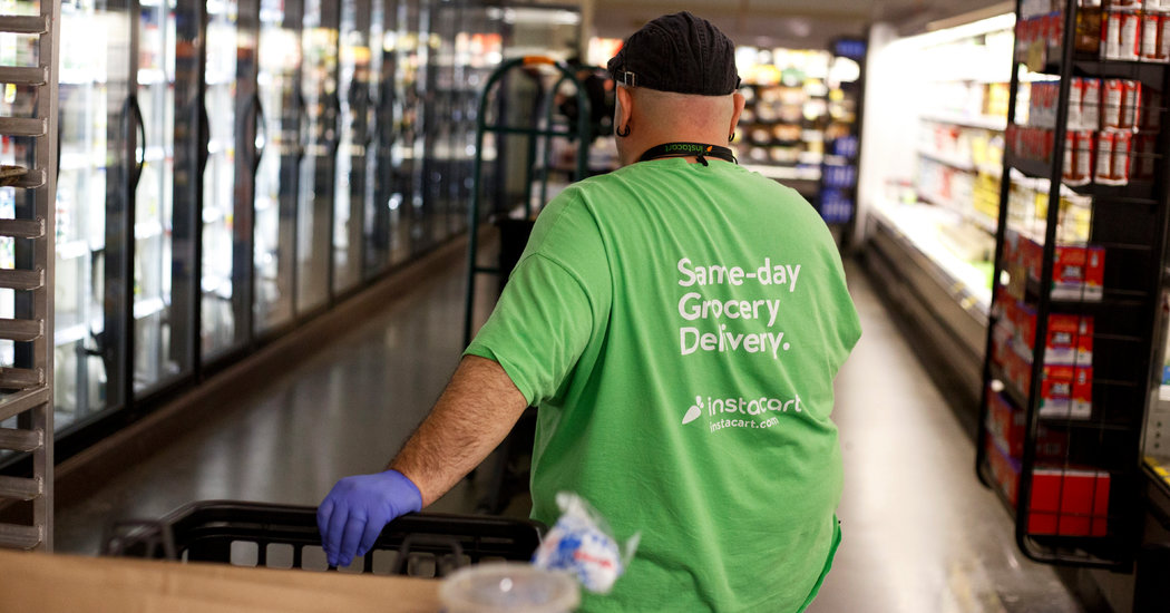 Coronavirus Prompts Instacart and Amazon Strikes Over Health Concerns