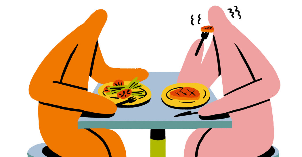 Couples Who Eat Together May Not Stay Together