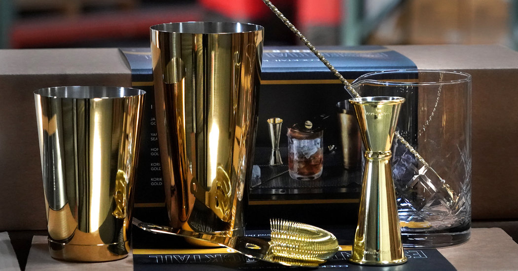 A Barware Company for the Pros Adds Amateurs to the Mix