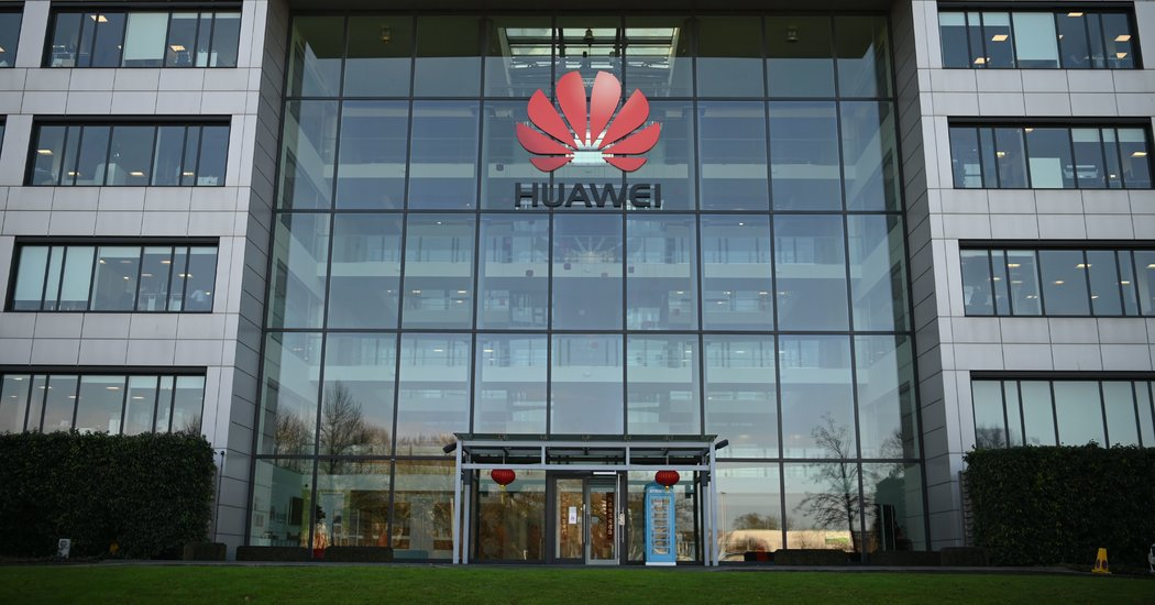 U.K. Bars Huawei for 5G as Tech Battle Between China and the West Escalates