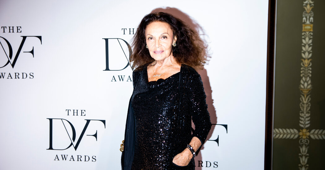 Diane von Furstenberg's Brand Is Left Exposed by the Pandemic