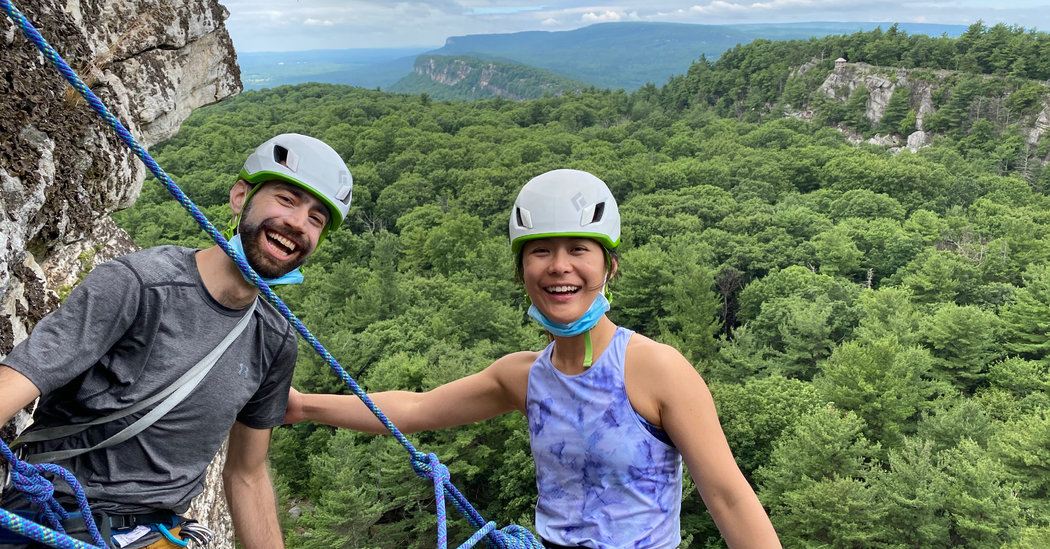 'Adventure Partners' Find Sure Footing Together