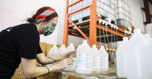 Distilleries Raced to Make Hand Sanitizer for the Pandemic. No Longer.