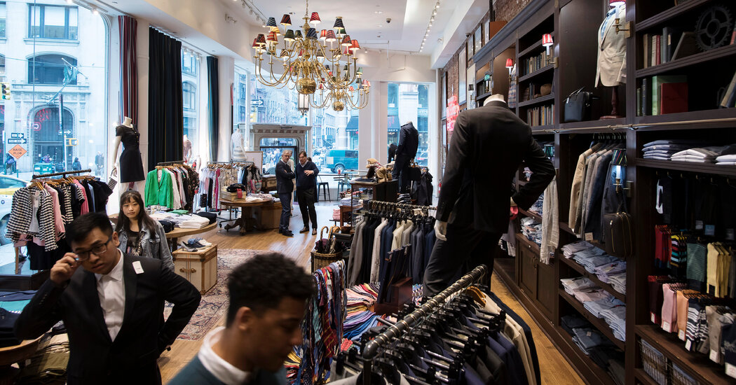 Bankrupt Brooks Brothers Agrees to Sale to Simon Property and Authentic Brands