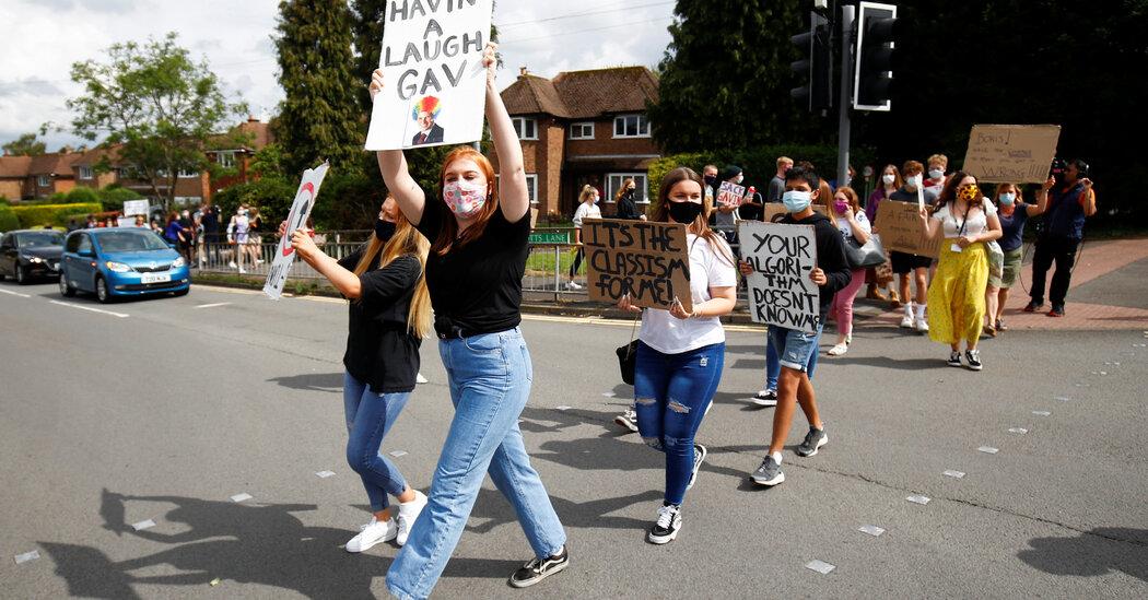 British Grading Debacle Shows Pitfalls of Automating Government