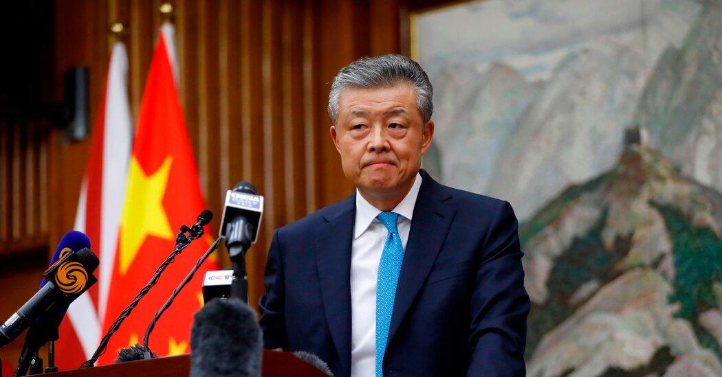 Chinese Ambassador 'Likes' an X-Rated Video. Awkward.