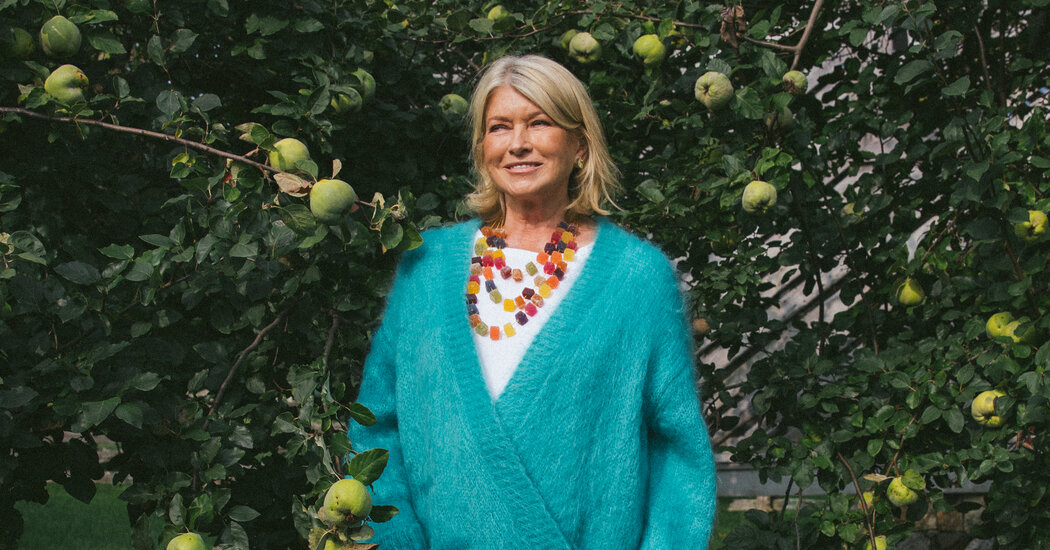 Martha Stewart, Blissed Out on CBD, Is Doing Just Fine
