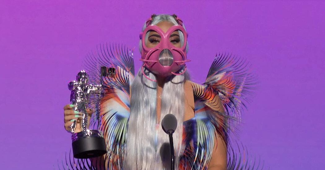 2020 MTV VMAs: Lady Gaga's Masks Were the Winners