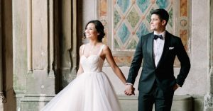 An Insta-Perfect Wedding With Strings Attached