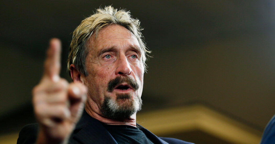 John McAfee Arrested in Spain, and U.S. Seeks Extradition