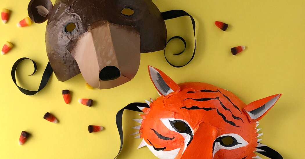 How to Make D.I.Y. Masks for Halloween