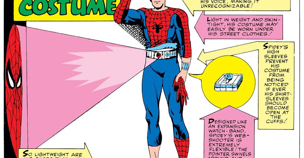 superhero costumes - The New York Times