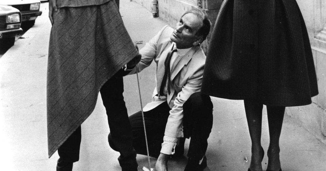 Pierre Cardin, Designer to the Famous and Merchant to the Masses, Dies at 98
