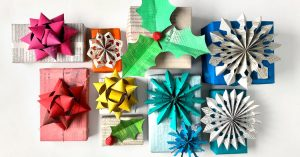 Wrap Gifts With Newspaper - The New York Times