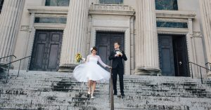 Two Cities and Two Weddings, But Only One Couple