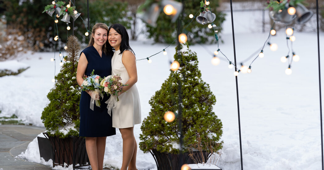 A Wedding Postponed Gets a Smaller Ceremony and a Silver Lining
