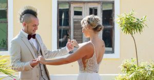 For Two Cloggers, 20 Years to Get in Step and Get Married