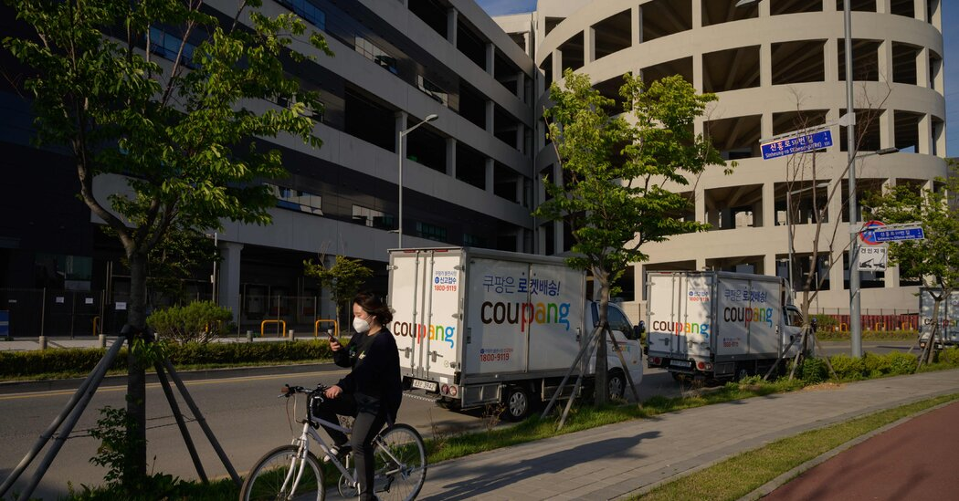 Coupang, South Korea's Answer to Amazon, Debuts in I.P.O.