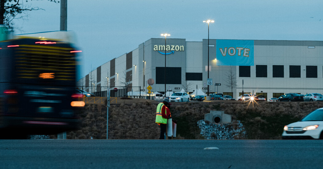 Amazon Union Vote: Labor Loss May Bring Shift in Strategy
