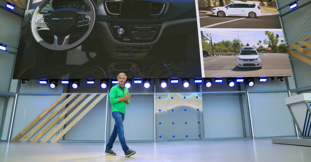 The C.E.O. of the self-driving car company Waymo will step down after more than 5 years.