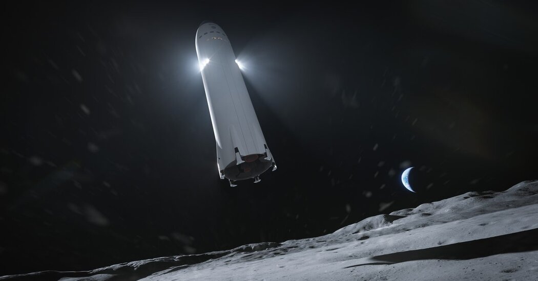 SpaceX Wins NASA $2.9 Billion Contract to Build Moon Lander