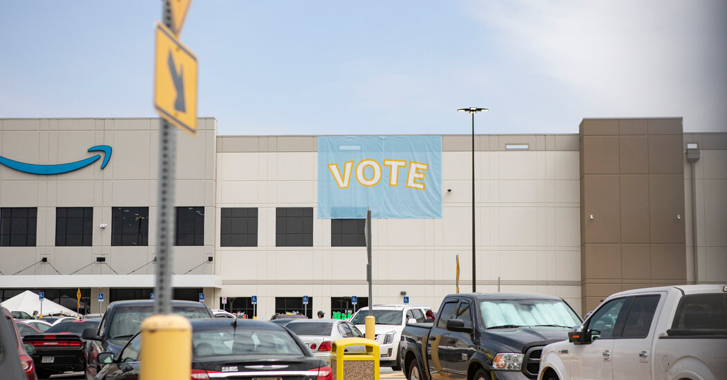Follow Live Results as Votes Are Counted in Amazon Unionization Bid
