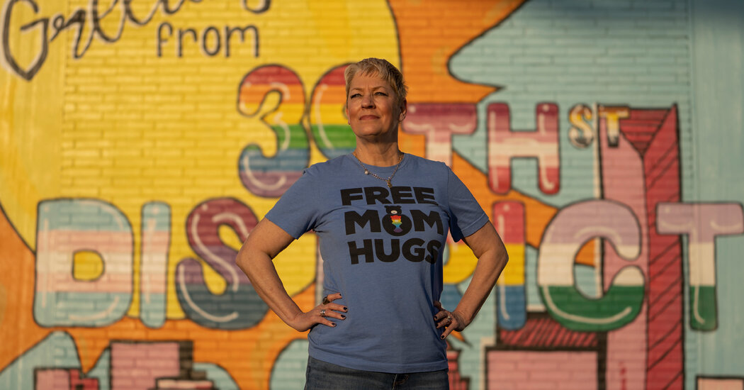 This Mother Strives to Change the World, One Hug at a Time