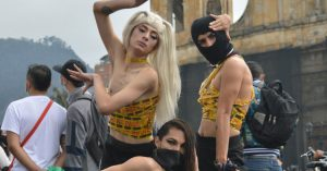 The Vogueing Protesters of Bogotá, Colombia