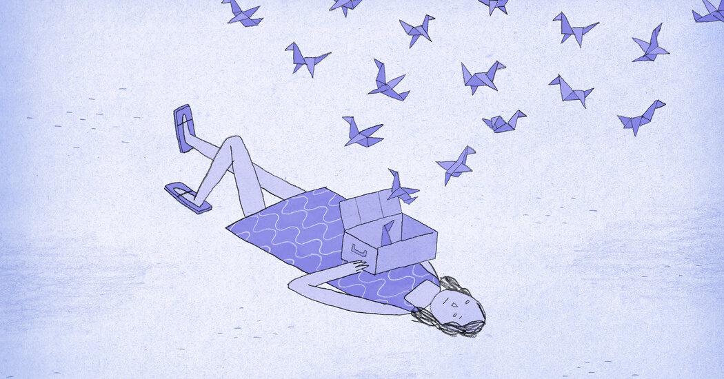 She Put Her Unspent Love in a Cardboard Box