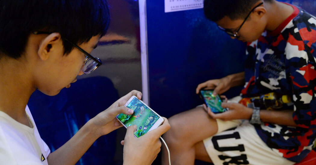 Tencent Uses Facial Recognition on Teenage Gamers